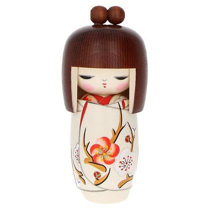 "Kokeshi ""rêve de printemps"" 16cm"