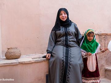Como vivem as babás cristãs                      na Península Arábica