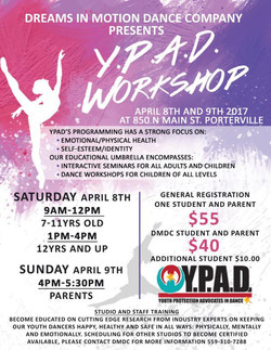 YPAD Flyer