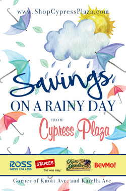 Winter Cypress Plaza Coupon Booklet