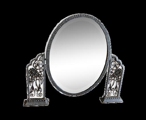 Miroir psyché art déco 66x54cm
