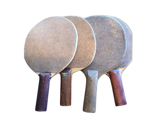 Lot raquettes ping-pong