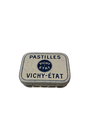 Boite de pastille de Vichy