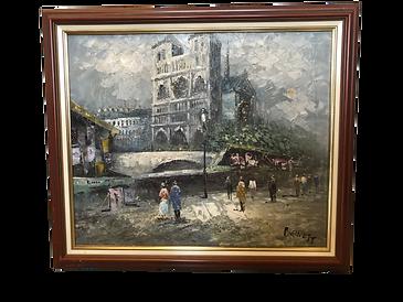 Tableau Notre Dame de Paris Burnett_6023