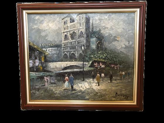Tableau Notre Dame de Paris - Burnett