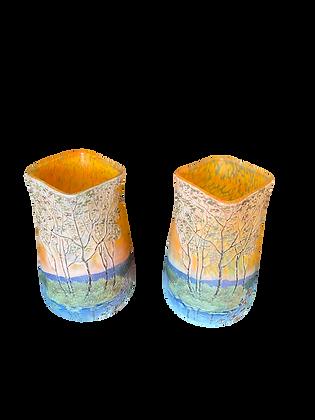 Paire de vase signés LEGRAS