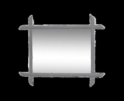 Miroir bambou 68x34cm