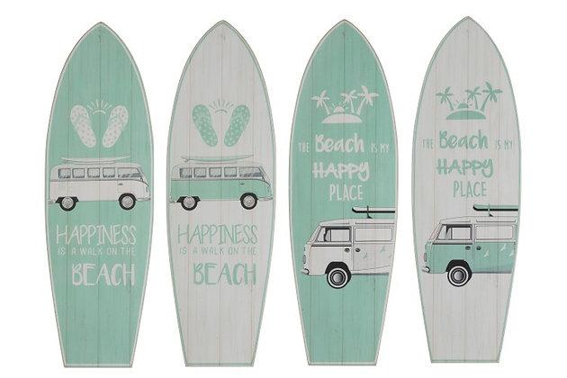 Décoration murale planche de surf