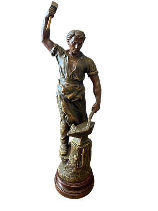 Statue forgeron