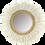 Thumbnail: Miroir en rotin et plume de cygne