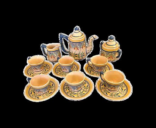 Service à thé ou café Henriot Quimper