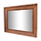 Thumbnail: Miroir cadre en bois 60x48cm