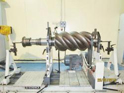 Balancing - Screw Compressor Gear Shaft.