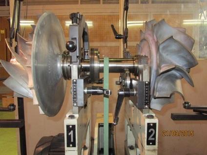 Balancing - KBB ST-6 Turbo Rotor