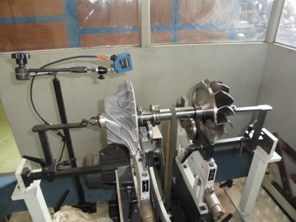 Balancing KBB HPR5000 Turbo Rotor