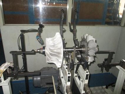 Balancing - MAN NR24S Turbo Rotor
