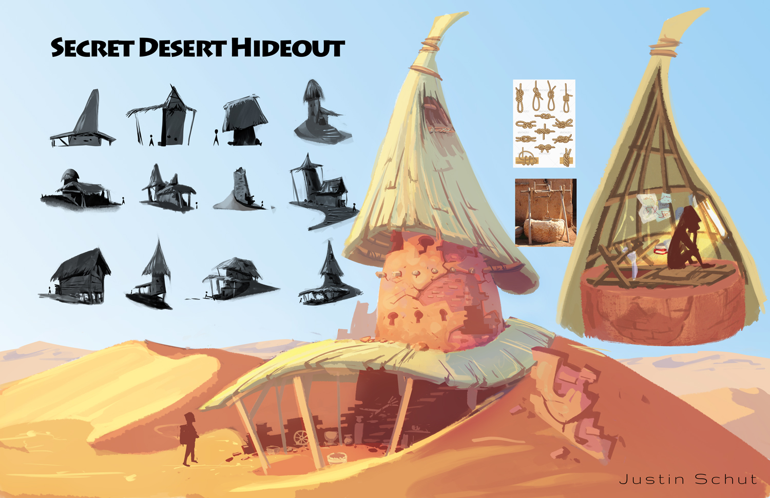 Secret Desert Hideout