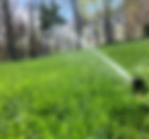 Lawn Sprinkler Abstract