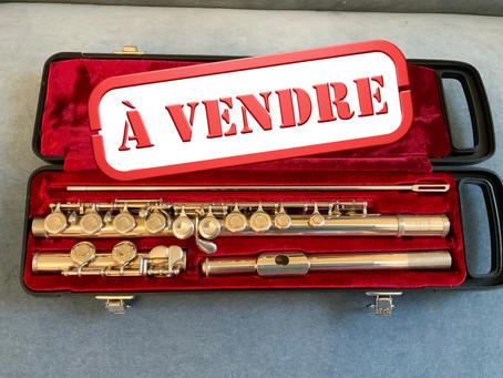 Comment acheter une flûte traversière d'occasion