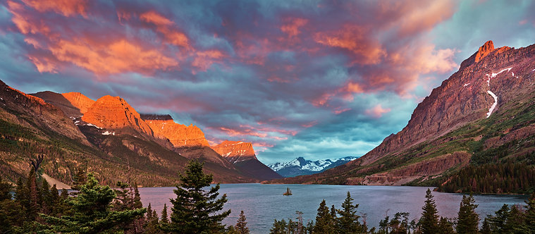 St. Mary Lake Sunrise
