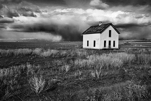 Abandoned House & Storm