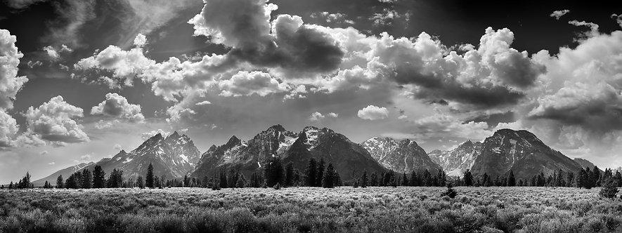 Grand Tetons & Clouds