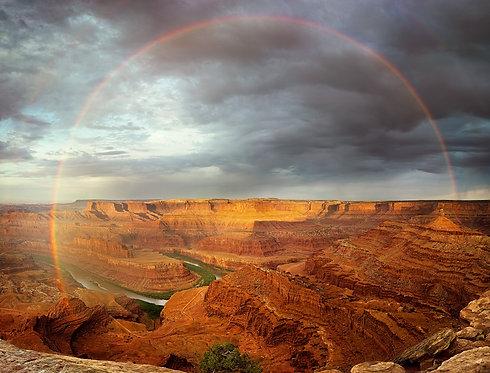 Rainbow at Dead Horse Point