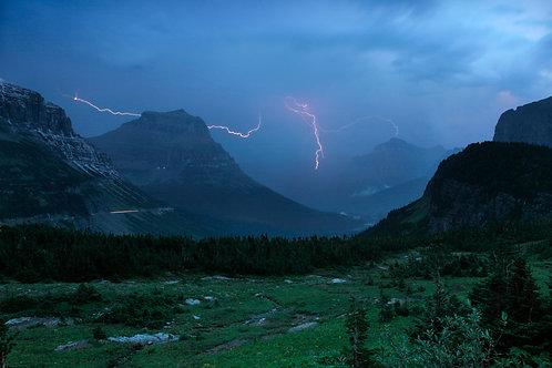 Lightning, Logans Pass
