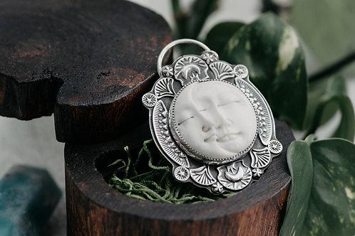 Sleepy Lunar Loverz Pendant