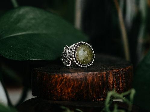 Vesuvianite Fern Ring