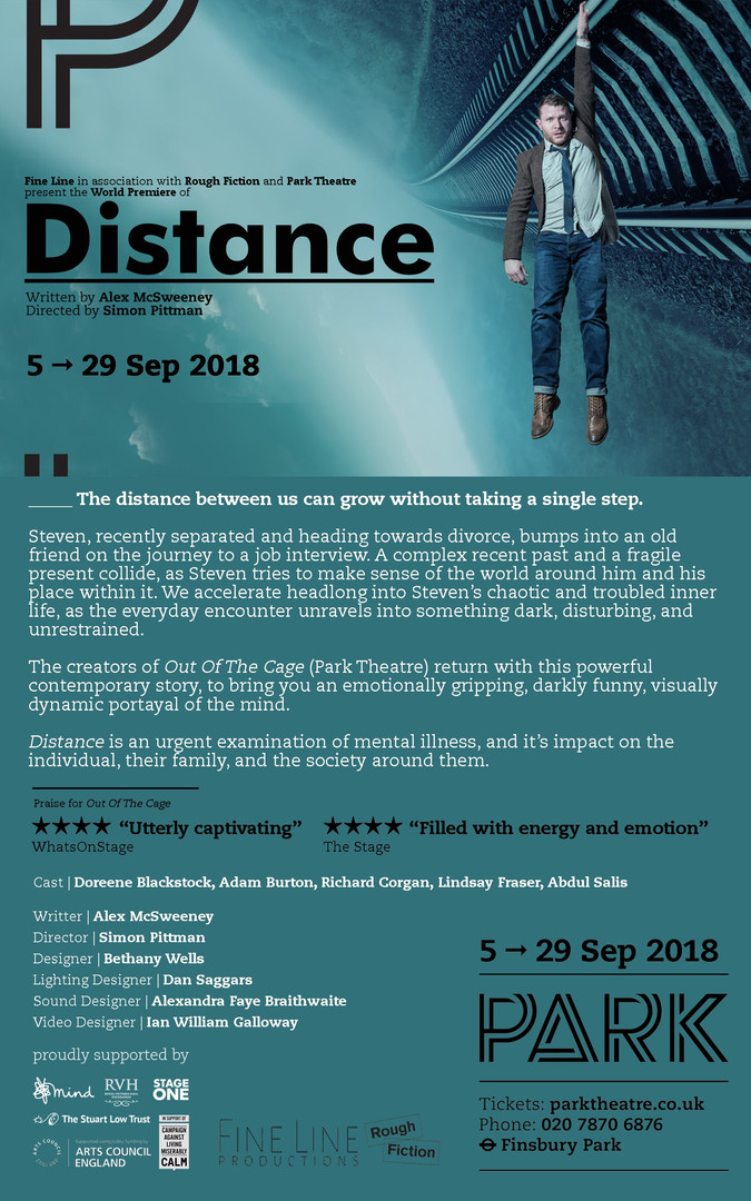 #DISTANCE By Alex McSweeney   Director Simon Pittman
