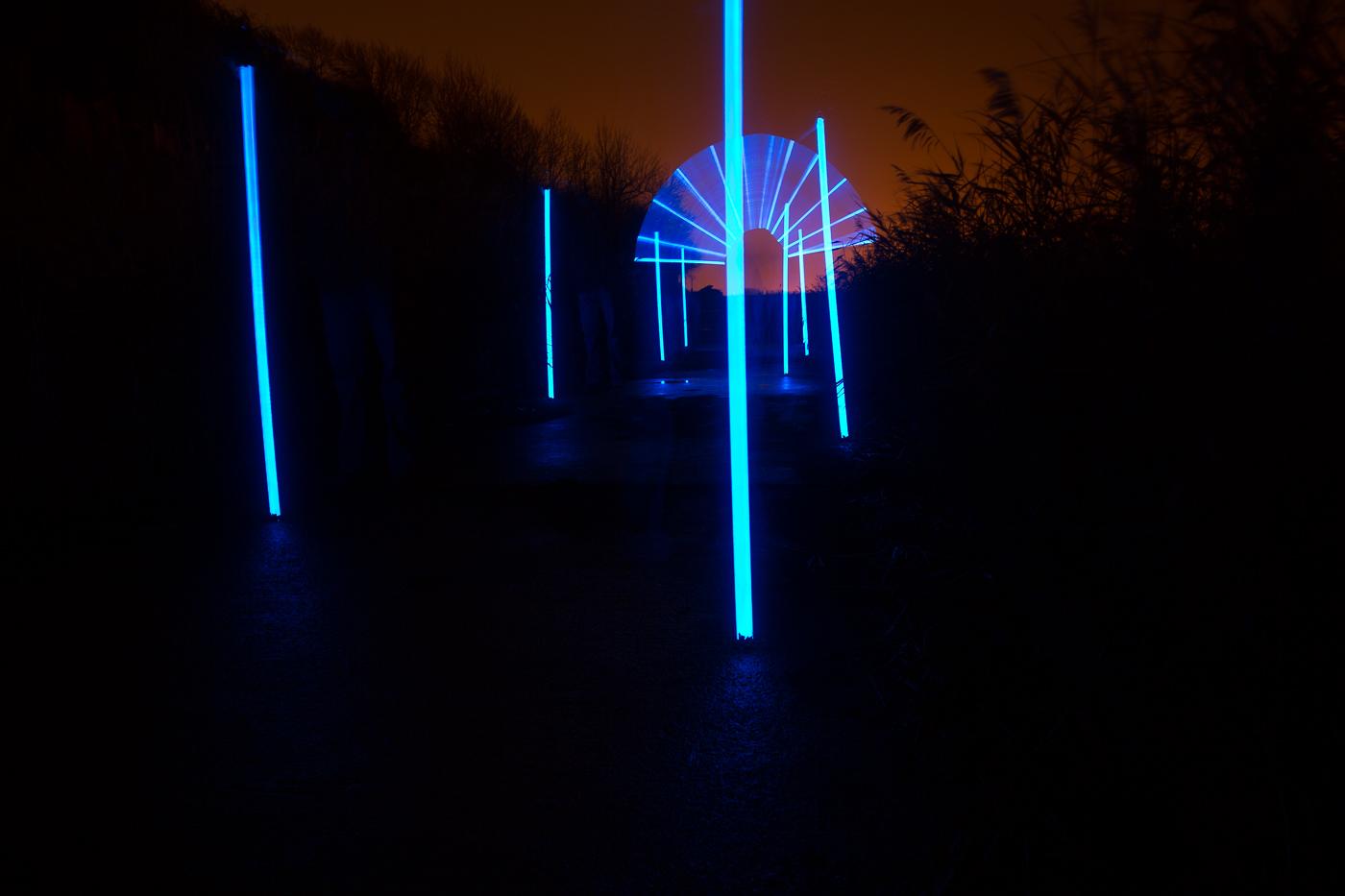 Blue Rods