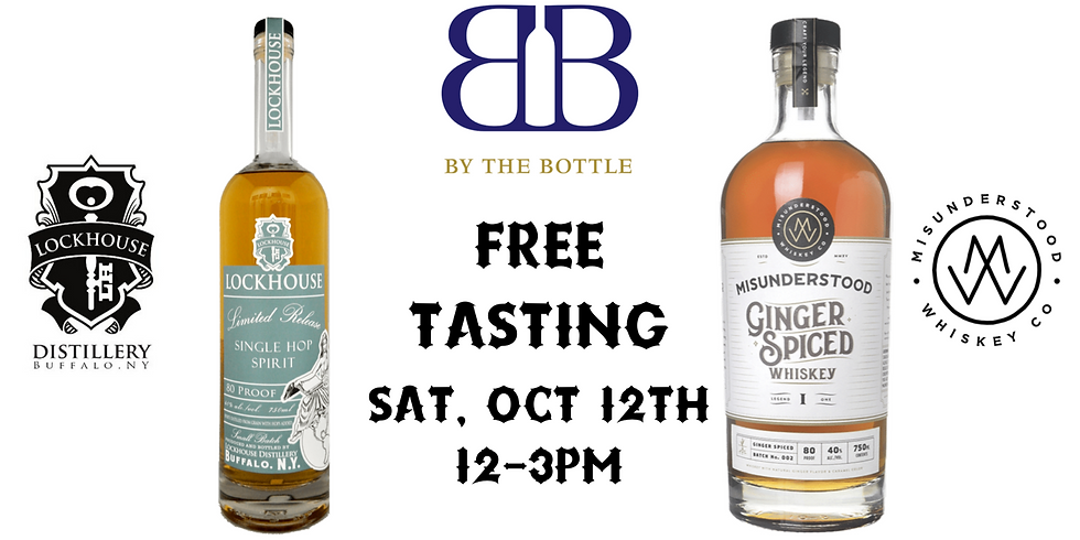 Free Tasting w/ Lockhouse Distilling & Misunderstood Whiskey