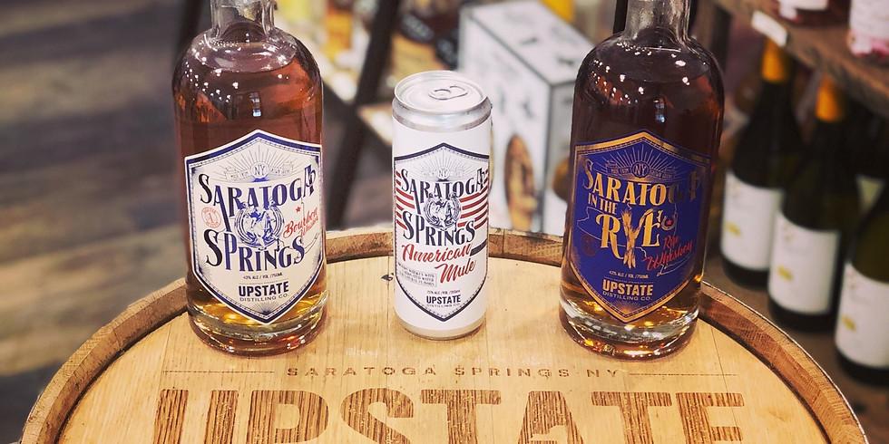 Free Tasting w/ Upstate Distilling Co.