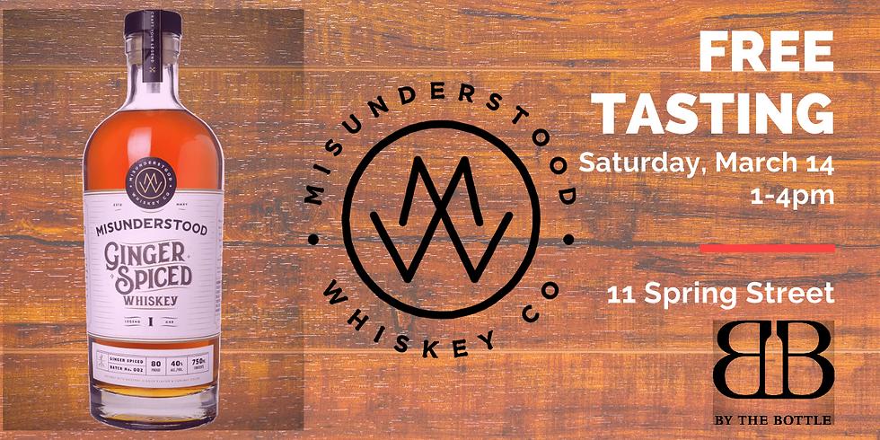 Misunderstood Whiskey - Free Tasting