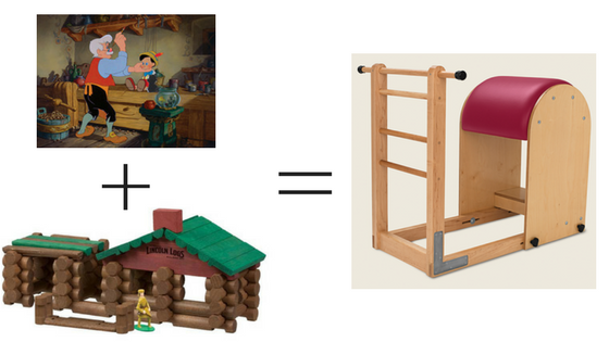 Geppetto, Lincoln Logs and Ladder Barrel