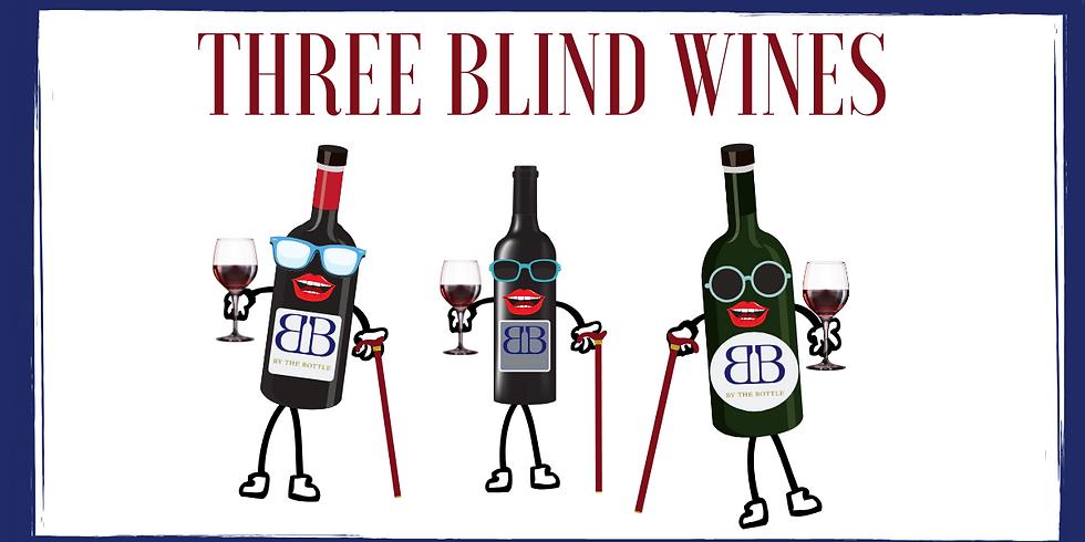 Three Blind Wines - Seeing Red