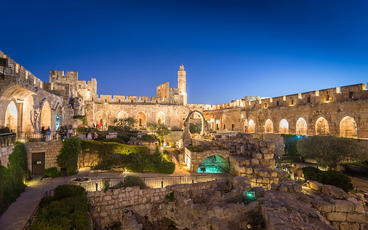 The City of David Museum Archeological g