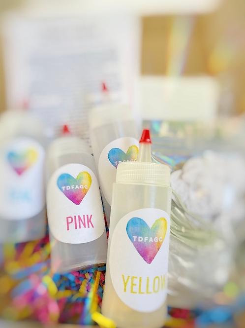 It's Party Time! DIY Tie Dye Kit