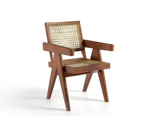 Cane Office Chair