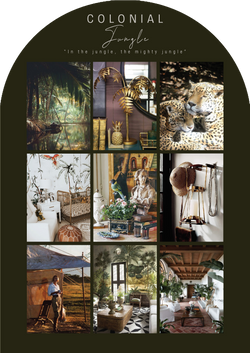 Colonial Jungle_Moodboard