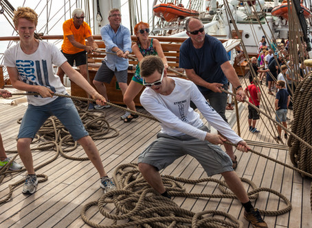The Tall Ships Races Tallinn 2021 invites young Estonian people to the International Sailing Regatta