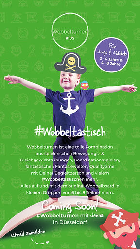 Wobbelturnen - Coming Soon - Stories und