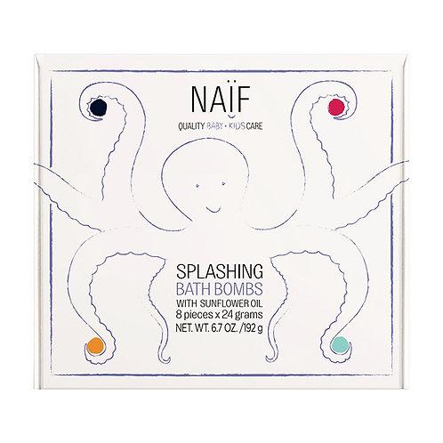 Splashing Bath Bombs (8st) Naïf
