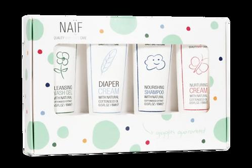 Newborn Mini Set von NAIF 4 x 15ml