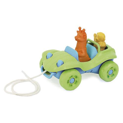 GREEN TOYS Nachziehauto / Buggy Pull Toy -gruen-