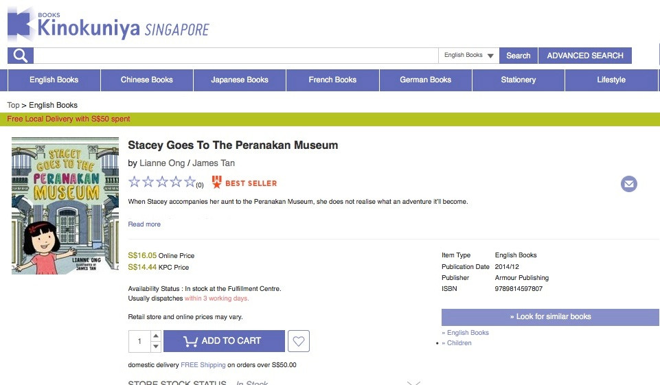 Kinokuniya bestseller TPM.jpg