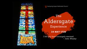 Pentecost Sunday and Aldersgate Sunday