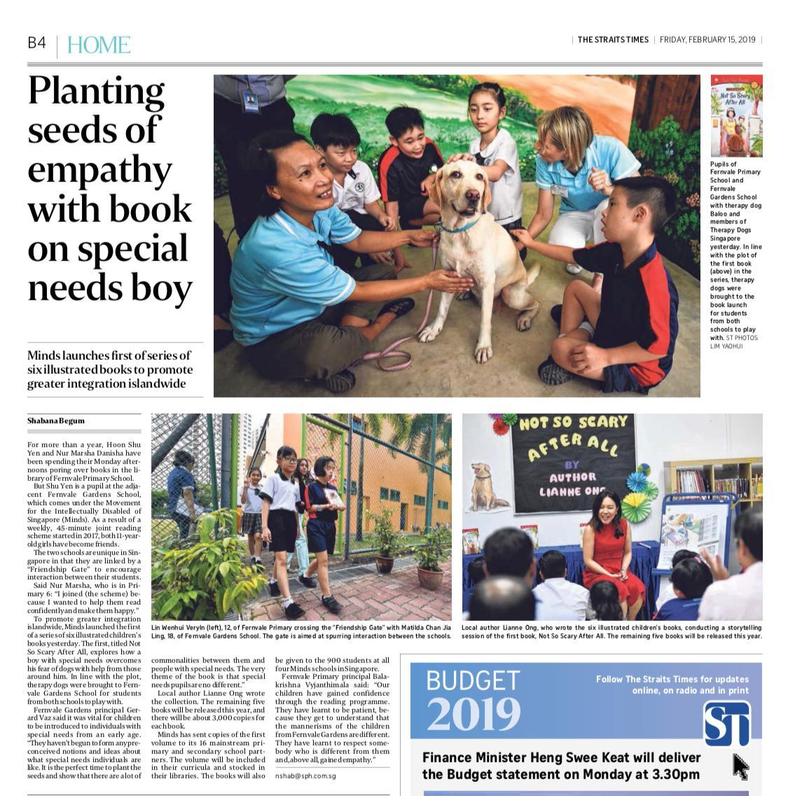 The Straits Times 15 February 2019
