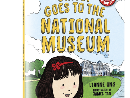 New edition of Stacey Goes to the National Museum